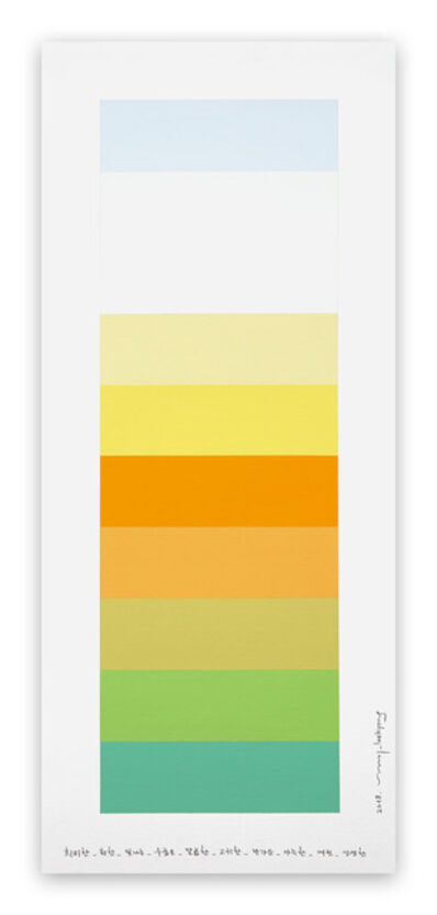 Kyong Lee, 'Emotional Color Chart 100', 2018