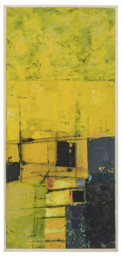 Donald Hamilton Fraser, 'Untitled (Yellow Abstract)'
