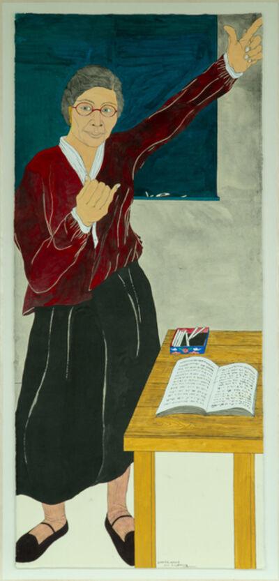 Suknam Yun, 'Portrait of KIM Maria', 2020
