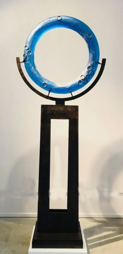 Marlene Rose, 'Vibrant Blue Ring Freestanding', 2019