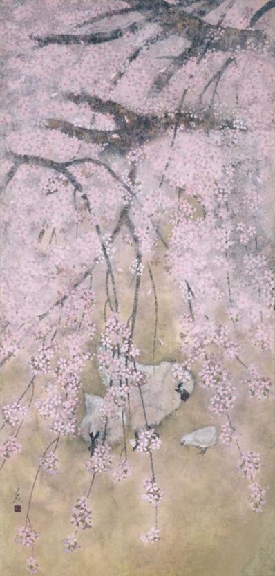 Shuo Yoshida, 'Oukun Yukei ・「桜薫遊鶏」', 2014