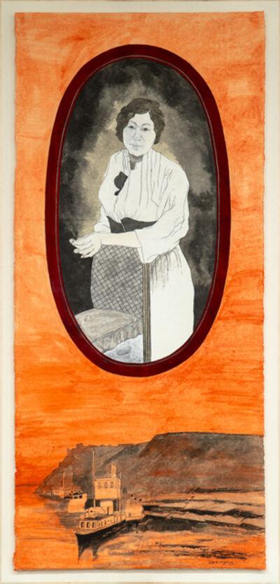 Suknam Yun, 'Portrait of KIM Alexandra', 2020