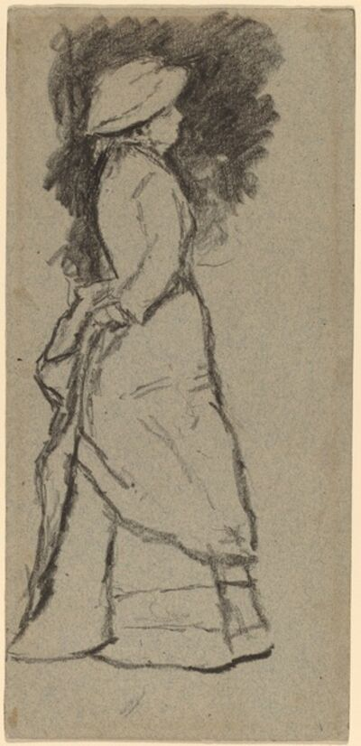 Homer Dodge Martin, 'Standing Woman in Profile'