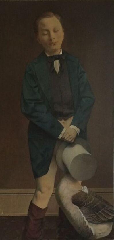 Wei Dong, 'Gentleman and Goose', 2015