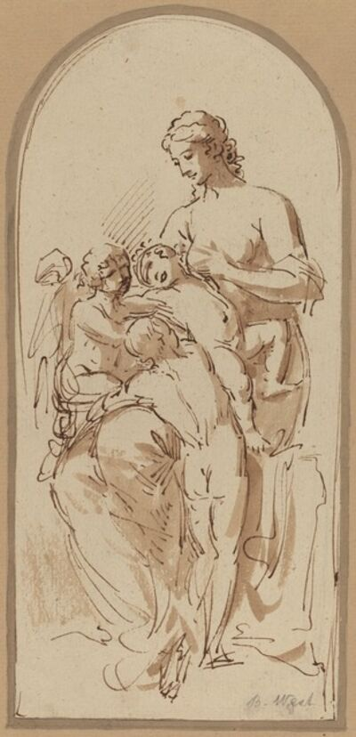 Benjamin West, 'Charity'