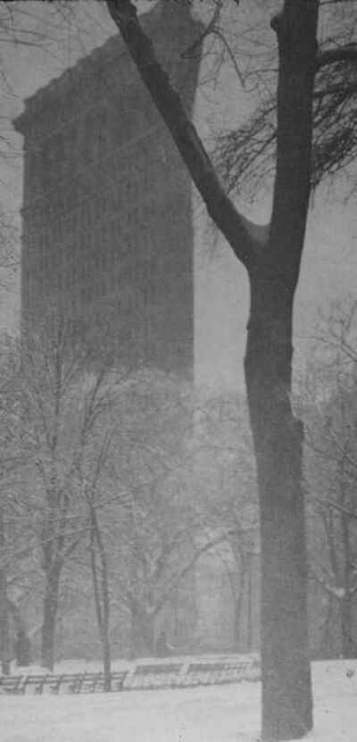 "Alfred Stieglitz, 'The ""Flat-iron""', 1903"