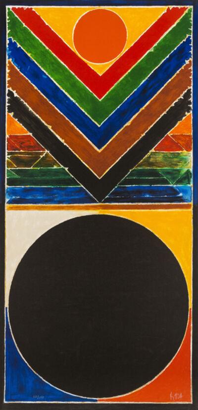 S. H. Raza, 'Tree and Bindu', 2008