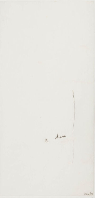 Mira Schendel, 'Untitled [Monotype series]', 1965
