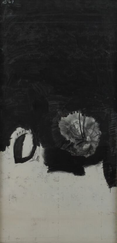 Hyman Bloom, 'Self-Portrait with Spider', ca. 1965