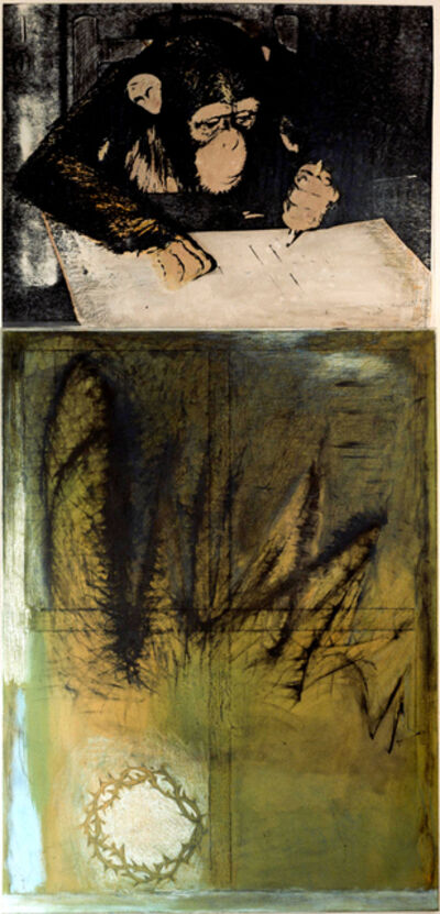 Marlene Dumas, 'The Three Crowns of Expressionism', 1982