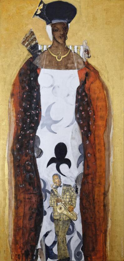 Adel El Siwi, 'Black Masters', 2015