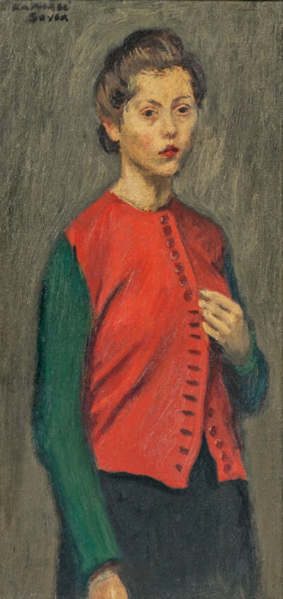 Raphael Soyer, 'Red Jacket'
