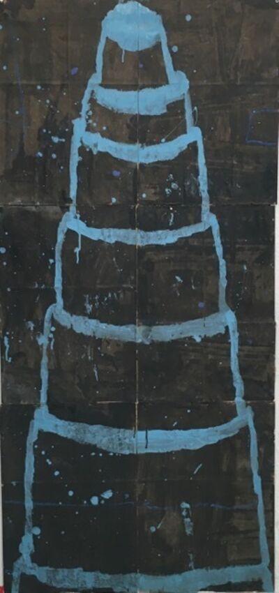 Gary Komarin, 'Blue on Black', 2018