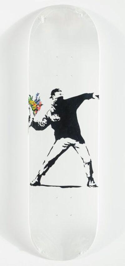 Banksy X Brandalism, 'Flower Bomber', 20174