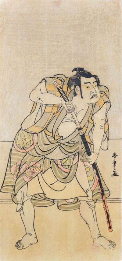 Katsukawa Shunsho, 'Kabuki Actor Nakamura Sukegoro', 1770