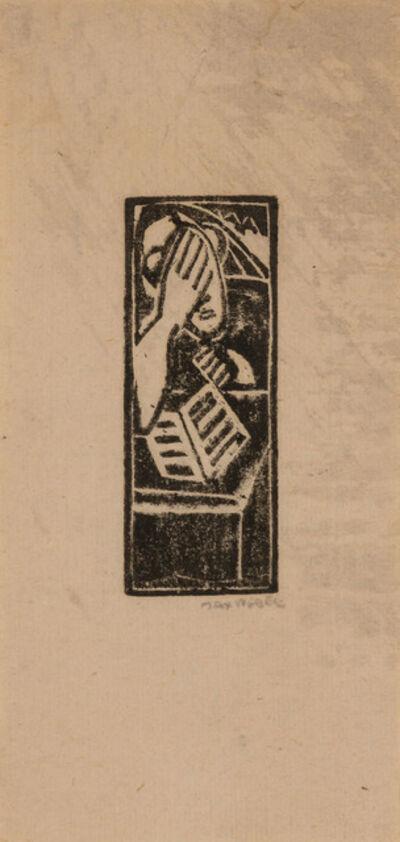 Max Weber, 'STUDY (R. 28)', 1919-20