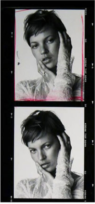 Bert Stern, 'Kate Moss, Ring by Cartier and Dress by Dolce and Gabbana, VOGUE Paris', 2001