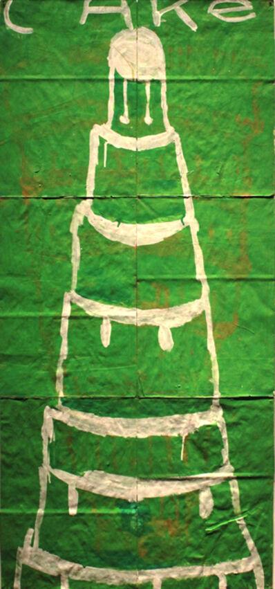 Gary Komarin, 'Green and White CAKE'