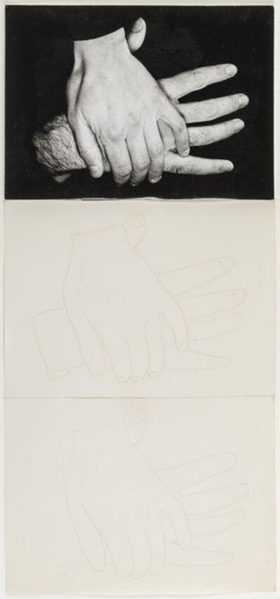 Ketty La Rocca, 'Due mani', 1973