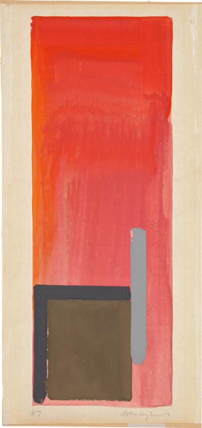John Hoyland, 'Untitled', 1967