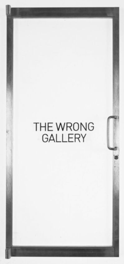 Andreas Slominski, 'The Wrong Gallery Door', 2005