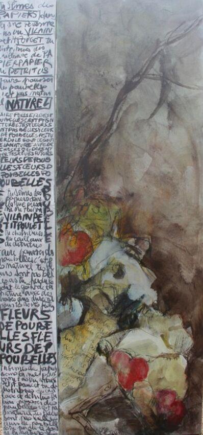 Hélène Bondurand Lallemand, 'Fleurs de poubelle', 2017