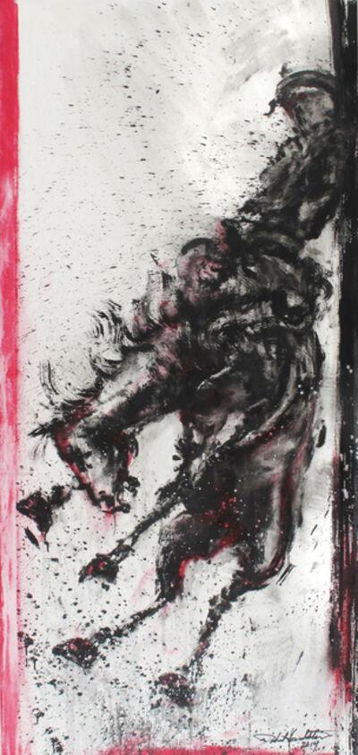 Richard Hambleton, 'December Horse and Rider', 2014