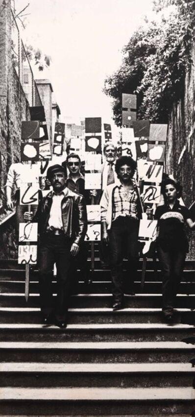 Plinio Mesciulam, 'Ostensione di Gruppo', 1976