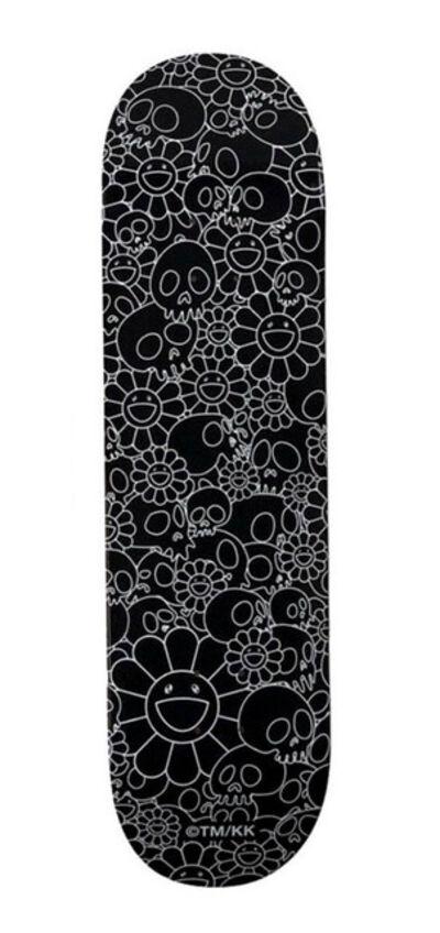 Takashi Murakami, 'Murakami Flowers skateboard deck (Takashi Murakami black flowers) ', 2018