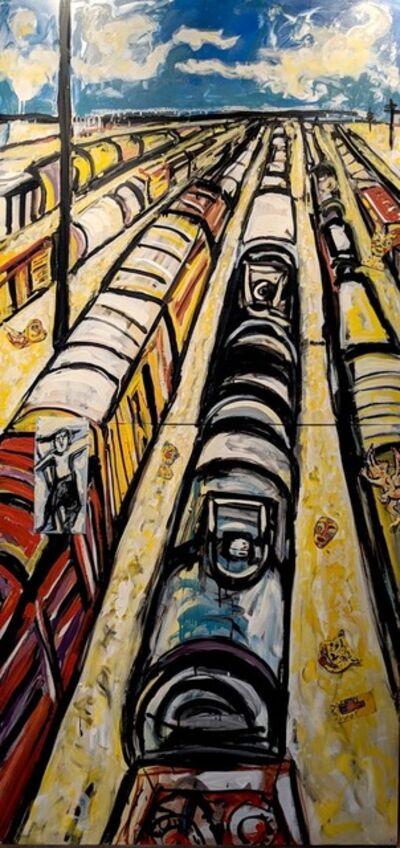 Marta Sanchez, 'Vertical Train Yard', 2005