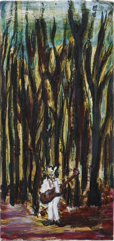 Peter Doig, 'City Singer in a Wood', 1991