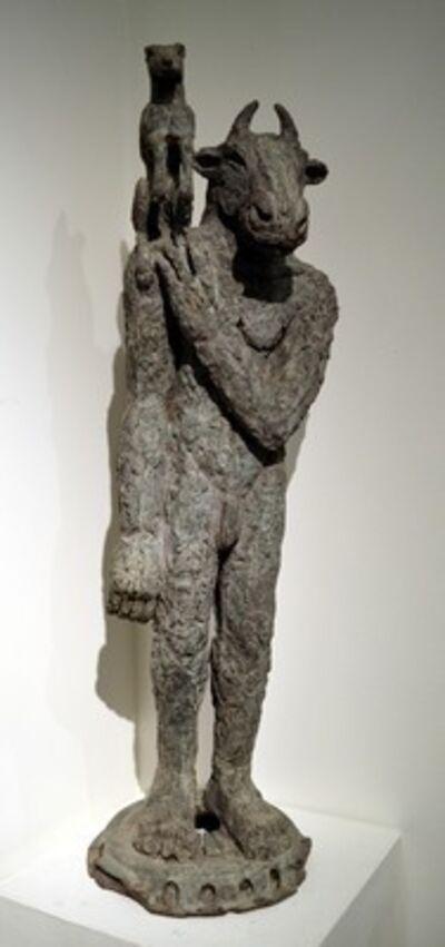 Sophie Ryder, 'Minotaur with Dog on Shoulder', 2002