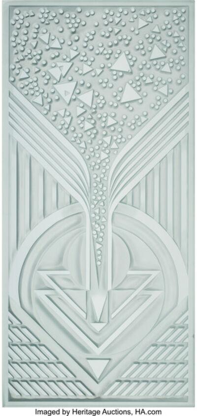 Eric Hilton, 'Geometric Panel', 1985
