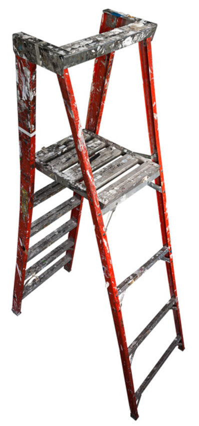 Jennifer Williams, 'Large Folding Ladder: Orange with Platform Open', 2012