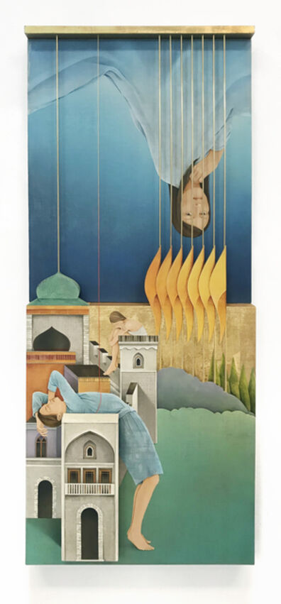 Arghavan Khosravi, 'The Golden Bars', 2018