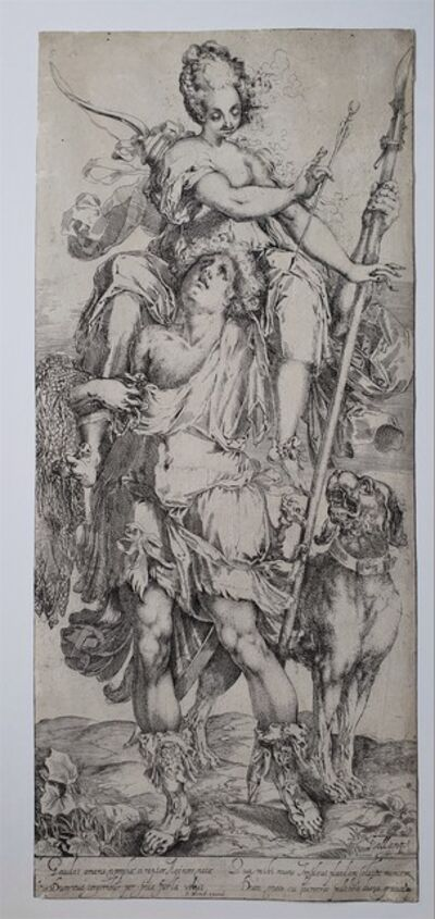Jacques Bellange, 'Diana and Orion', 1595-1616