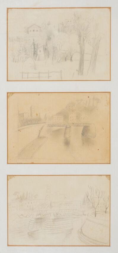 Mario Mafai, 'Three drawings'