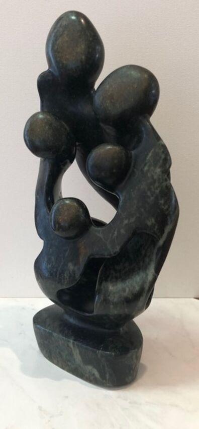 Aron Kapembeza, 'Opal Stone Family Sculpture', 2019