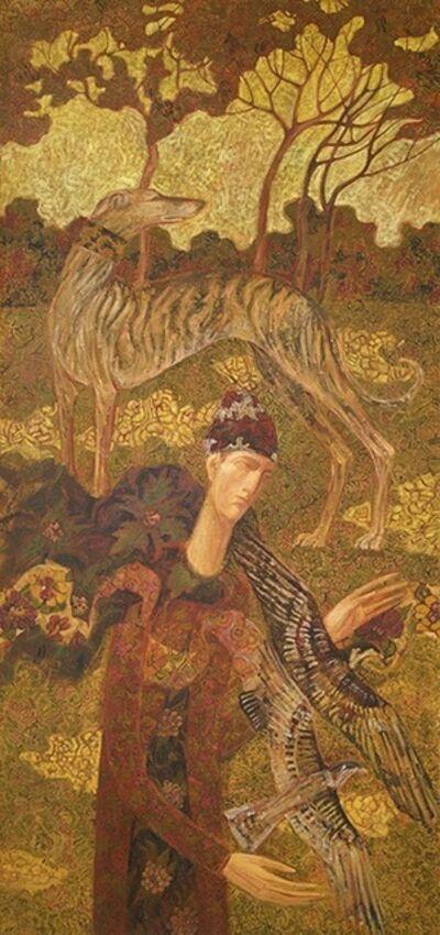Timur D'Vatz, 'Hunter with Hound', ca. n/a