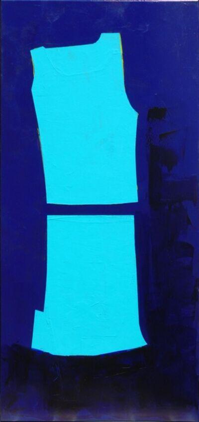 Carolina Convers, 'Figure Blue and Blue', 2014