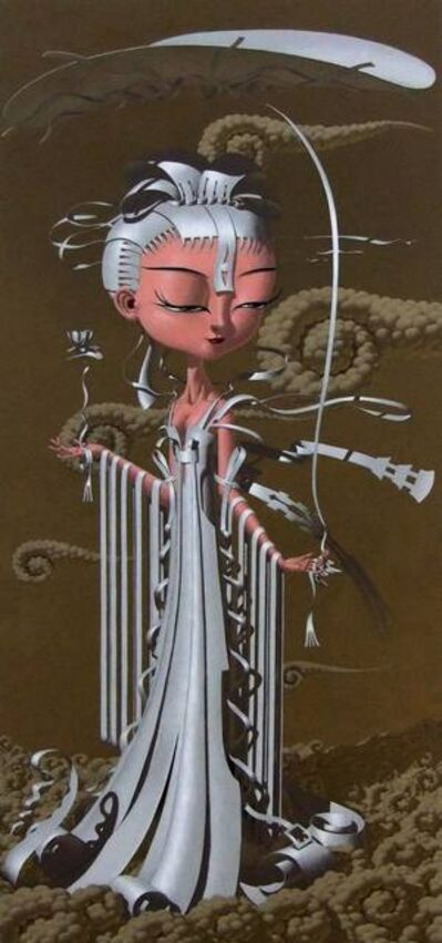 Deng Xinli, ' Immortal Lotus Fairy No.1 神仙眷之莲花仙之一', 2010