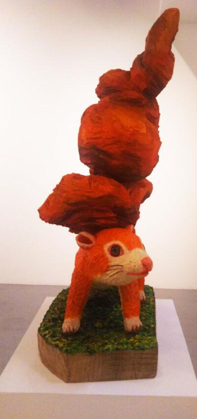 Takanori Ishizuka, 'Burning tail', 2018