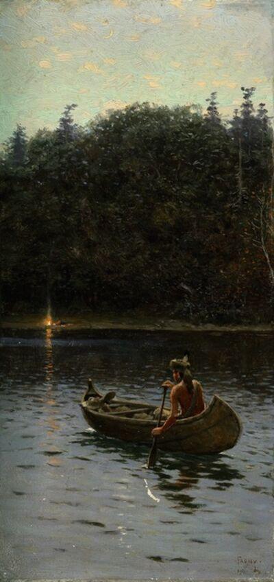 Henry F. Farny, 'Homeward', 1911