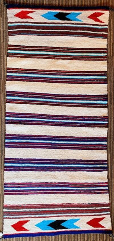 Navajo artist, 'Navajo double saddle blanket', 2019