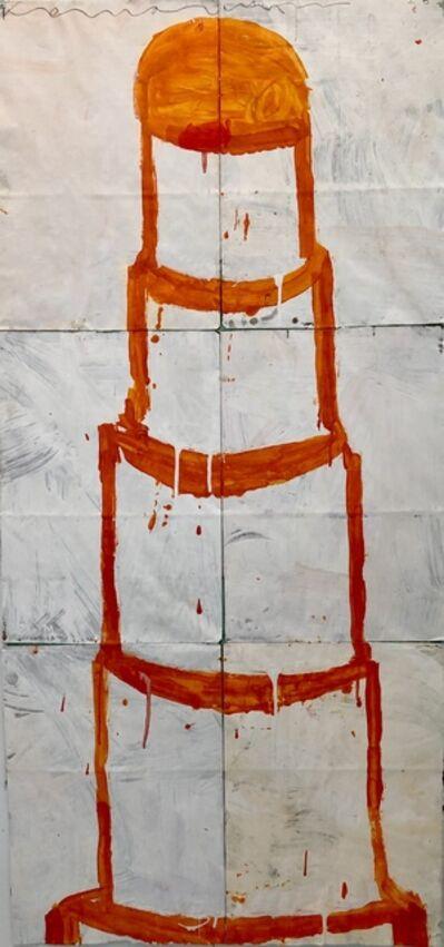 Gary Komarin, 'Orange and Creme CAKE'
