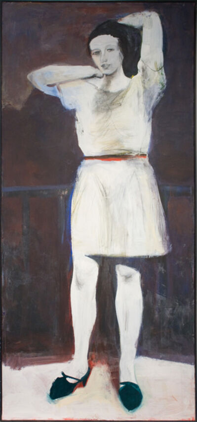 Elmer Bischoff, 'Girl with Arms Raised', 1967