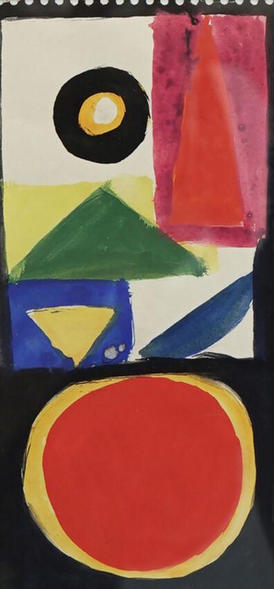Aurelie Nemours, 'Archaïque', 1954-1974