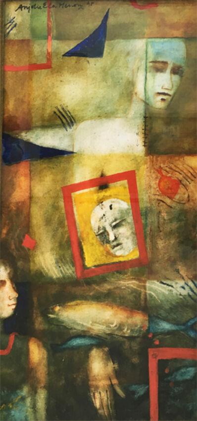 Anjolie Ela Menon, 'Memories of the Sea', 1995