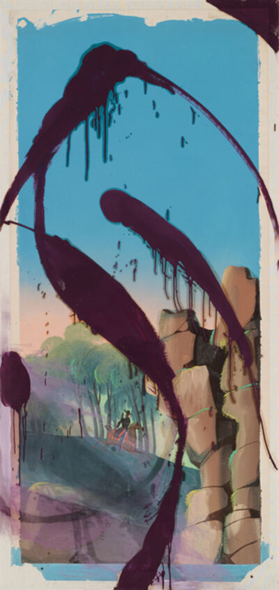 Julian Schnabel, 'The Sky Is Falling I', 2018