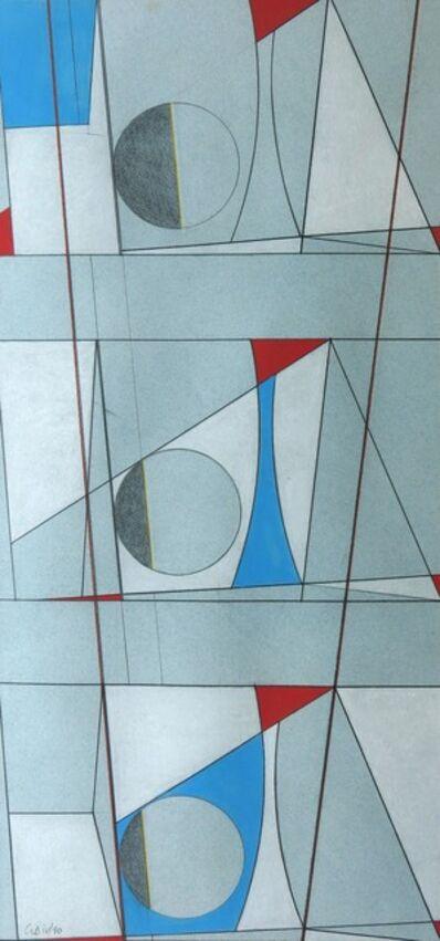 George Dannatt, 'Marine Motif with Two Variations (Dart Point)', 1979-1990